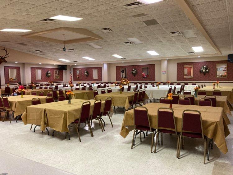 Main Hall before Fall 2020 Meeting