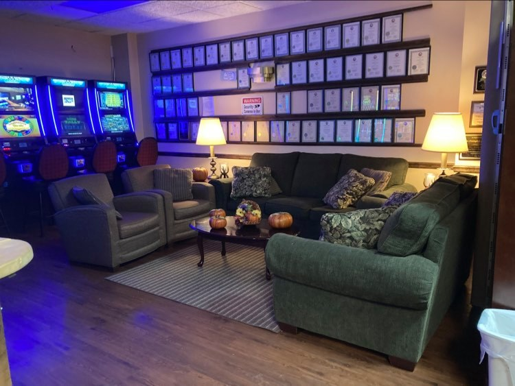 Lounge Area, Game Room